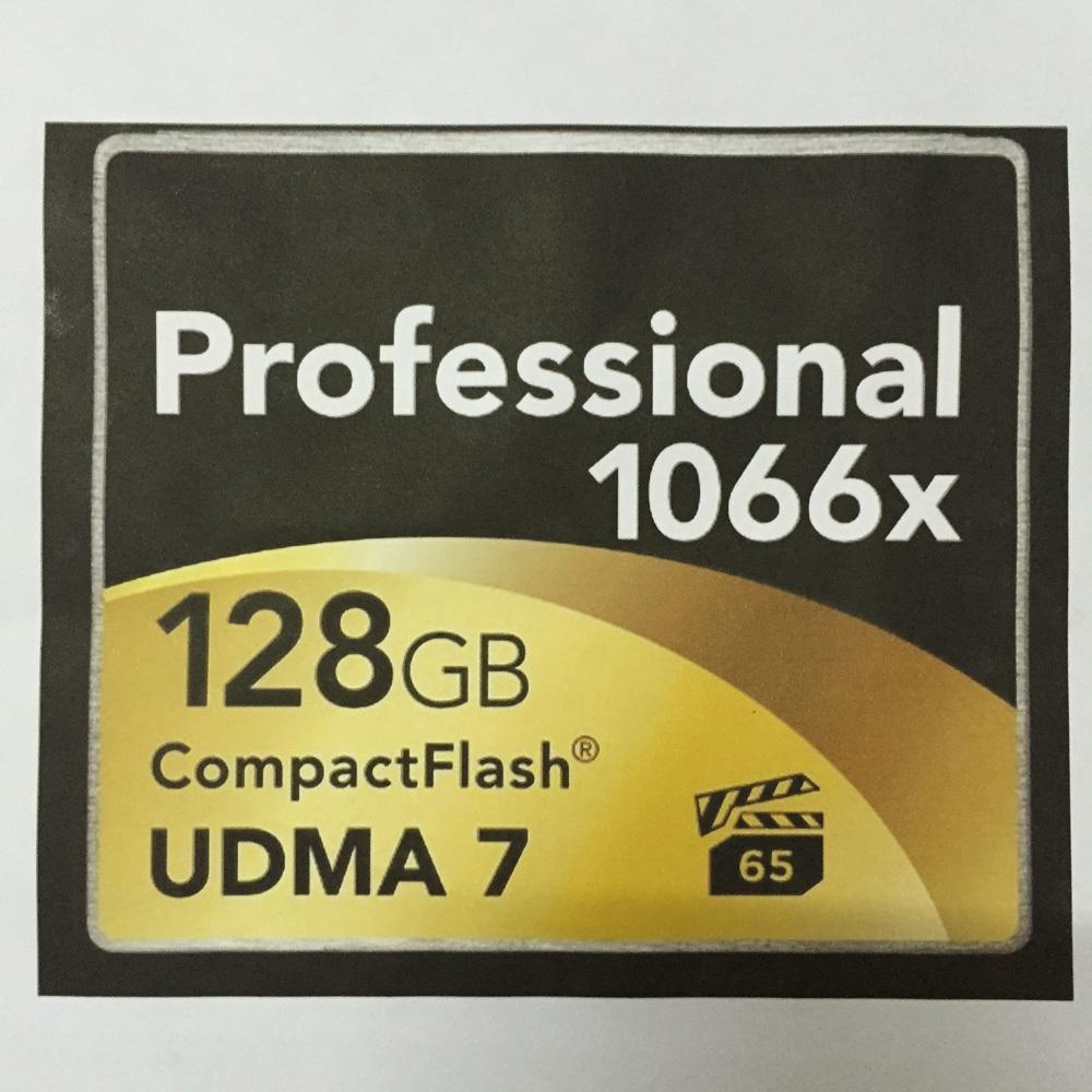 Professional CompactFlash Memory Card CF Card 64GB 128GB 32GB 16GB 1066x Compact Flash Memory Cards UDMA 7 160Mb/s High Speed(China (Mainland))