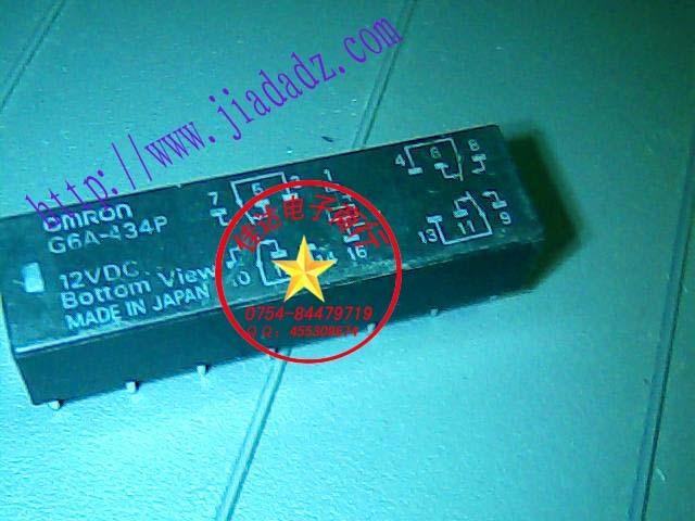 Здесь можно купить      10PCS     G6A-434P-12VDC   Электронные компоненты и материалы