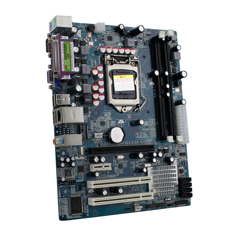 Brand GUANMING H55-M D3 LGA  1156 Pin ATX Mother Board For Intel i3 i5 i7 CPU Desktop PC Motherboard DDR3 1066/1333/1600 VGA+LPT(China (Mainland))
