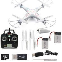 Free Shipping! Syma X5C-1 6-Axis 2.4G Gyro RC Drone Quadcopter RTFW/2MP HD Camera+Extra Battery
