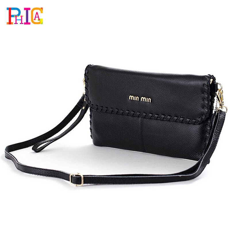 Brand Clutch Small Vintage Cow Leather Bag Women Shoulder Messenger Bag Crossbody Bags Women Clutch Party Street(China (Mainland))
