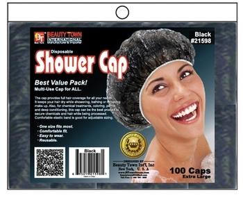 Transparent Disposable shower cap ,Hot -oil  Hair cap Dust cap, one lot= 100pieces