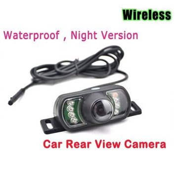 IR wireless Rear View Camera car reverse camera Night Vision Water Proof