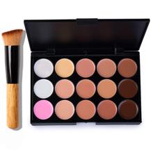HOT!!! 15 Colors Professional Salon/Party Contour Face Cream Makeup Concealer Palette/High Quality