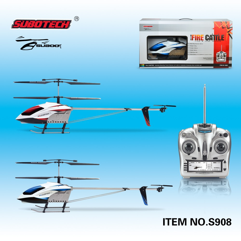 2014 hot sale S908 3.5CH 120CM Large RC helicopter radio control toys(China (Mainland))