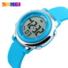 SKMEI Children LED Digital Watch Relogio Feminino Sports Watches Kids Cartoon Jelly Relojes Mujer 2016 Waterproof Wristwatches
