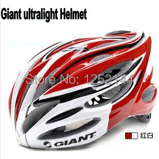 New type integrally molded ultralight Giant bicycle helmet safely EPS giant cycling helmet 6 colors free shipping(China (Mainland))