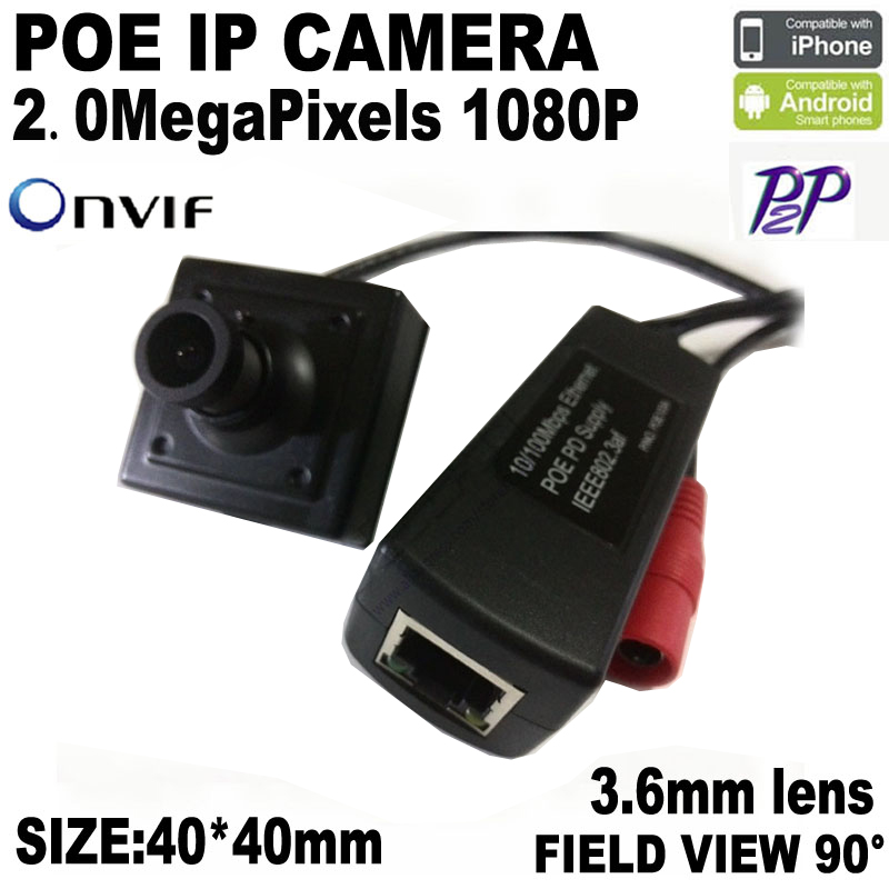 POE HD 1920 x 1080P 2.0MP Indoor IP Camera Mini Type Security Metal Camera ONVIF P2P IP CCTV Cam System Free Shipping<br><br>Aliexpress