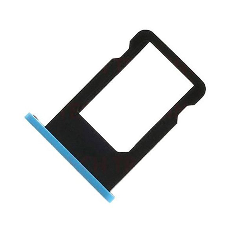 1Pc Micro SIM Card Holder For Iphone 5c High Quality SIM Card Slot Tray Holder Replacement Part Color Blue BA1C104(China (Mainland))