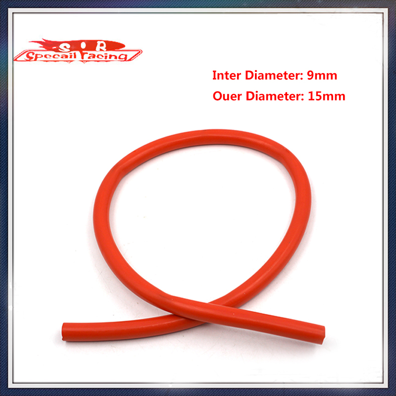 Special Racing - New Silicone Vacuum Hose /Tube Silicone Pipe ID:9mm OD:15mm(China (Mainland))