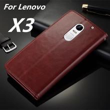 Buy Fundas Lenovo Vibe X3 High Flip Cover Case Lenovo Vibe X3 Magnetic Leather Holster Phone Shell Capa for $5.94 in AliExpress store