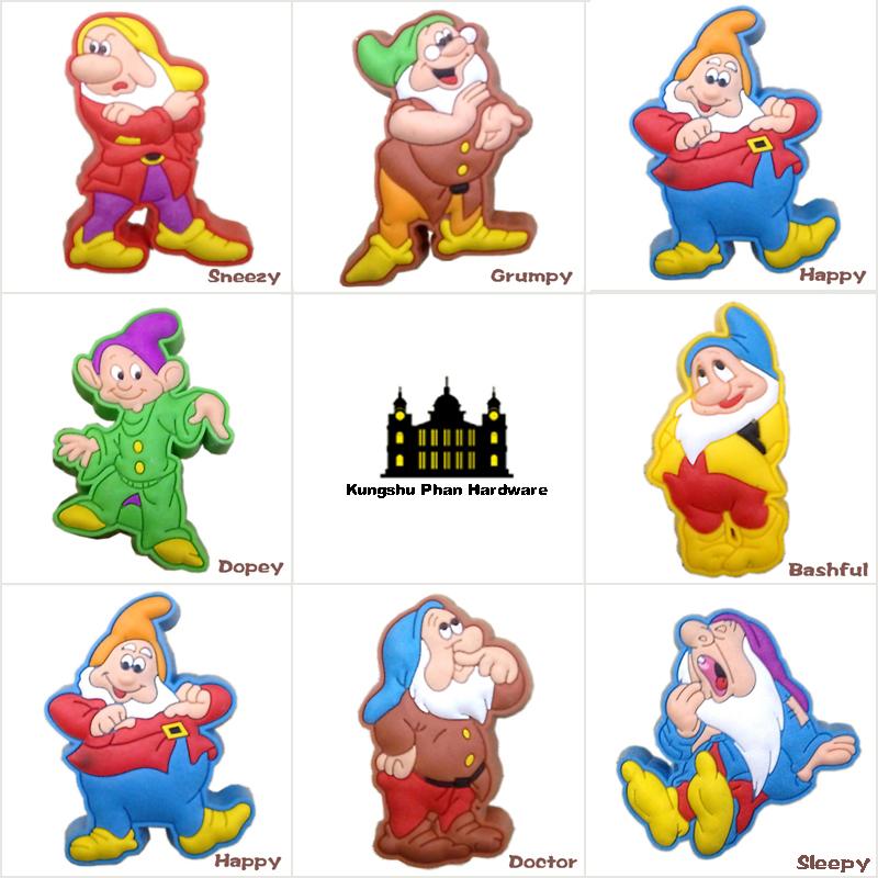 10pcs Soft Rubber Cartoon Cabinet Handles Knobs Children Baby Room furniture handles Drawer Pulls Closet Door Hardware(China (Mainland))