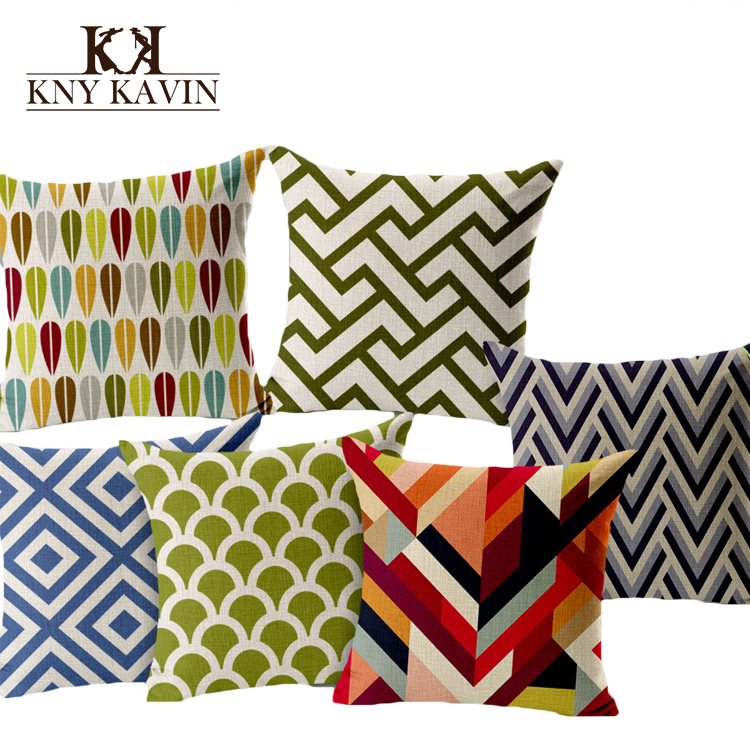 2015 european brand home decorative cushions geometry art for Home decor brands