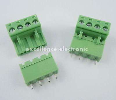 Гаджет  10 Pcs 5.08mm Pitch 4 pin 4 way Screw Pluggable Terminal Block Plug Connector 2EDG L None Электротехническое оборудование и материалы