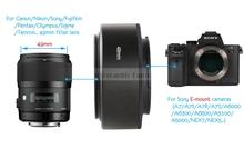 Buy Camera Macro Lens Reverse Adapter Extension Tube Metal NEX49 52 55 58 62 67 72mm Sony A6000 A5100 A5000 A7 A7R II NEX7 for $4.67 in AliExpress store