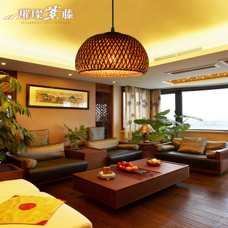 New chinese chandelier restaurant cafe aisle balcony for Balcony restaurant group