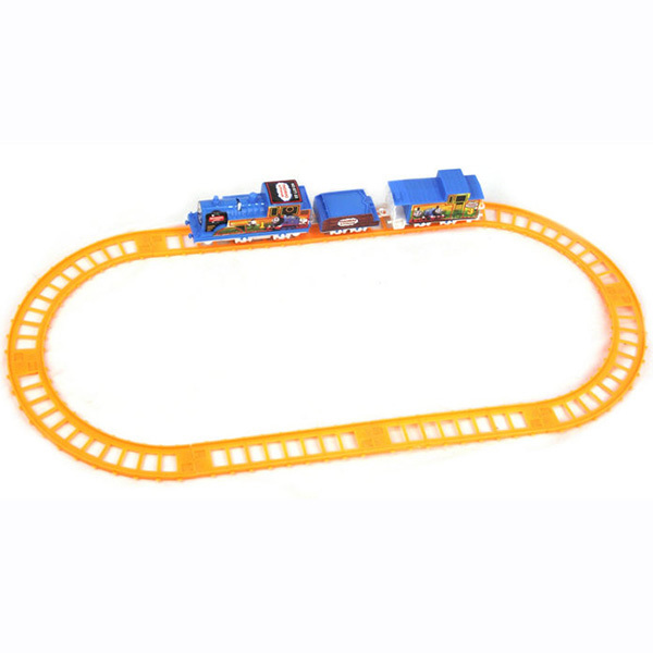 Wholesales Gauge Figure Electric Rail Train Set Track Toy for Baby Kids Child Game New Toys(China (Mainland))