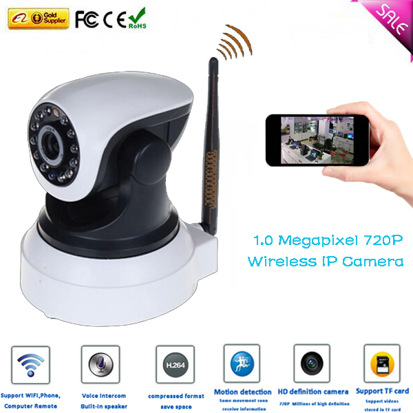 P2P Plug Play Wireless wifi ip camera 720P Free Iphone Android App Software built IR-cut - B&Y Digital Technology Co.,Ltd store