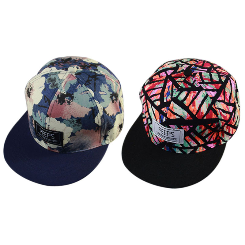 Lose money for orders !!! Men Women New Arrival Unisex Snapback Adjustable Baseball Cap Hip Hop hat Cool Floral cool & handsome(China (Mainland))