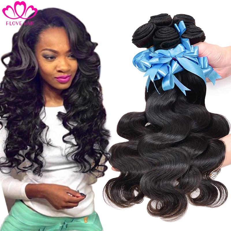 7a Unprocessed Peruvian Virgin Hair Body Wave 3 PCS Rosa Hair Products Peruvian Body Wave Human