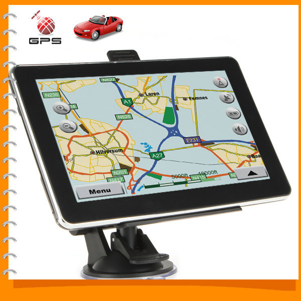 7 inch TFT LCD Touch Screen Bluetooth Auto Car GPS Navigation 7'' Vehicle Navigator System with MP3 MP4 FM - Wince 6.0 OS(China (Mainland))