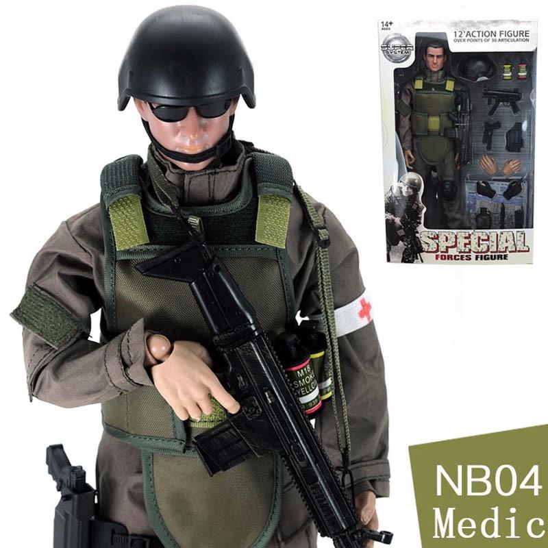 Modello IN SCALA 1//6 SOLDATO armi in legno di soldato Action Figure Militari 2Pcs
