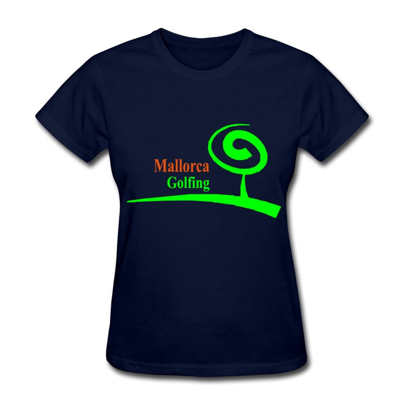 no minimums female t shirt o neck tee shirt golf pack