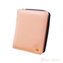 New Fashion Women Card Coin MONEY holder Wallet PU Leather HANDBAG Clutch Purse Bag 02QV 4CHO