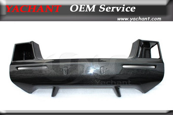 Car- Styling Carbon Fiber Nose Head Cover Fit For 2008-2010 Nissan Skyline R35 GTR GTR35 OEM Front Bumper Nose Cover