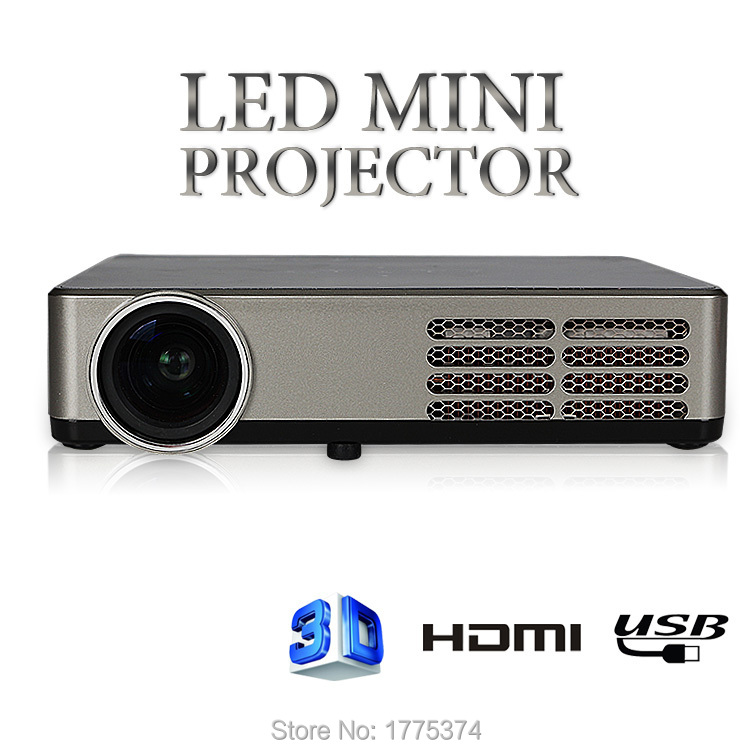 Free gift 3d glasses full hd new mini projector proyector for Best small hd projector