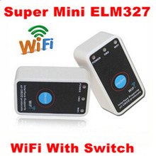 2016 MINI ELM327 WIFI ON/OFF Switch V1.5 ELM327 WIFI OBD2/OBDII ELM 327 CAN-BUS Diagnostic Tool for IOS Android LR15