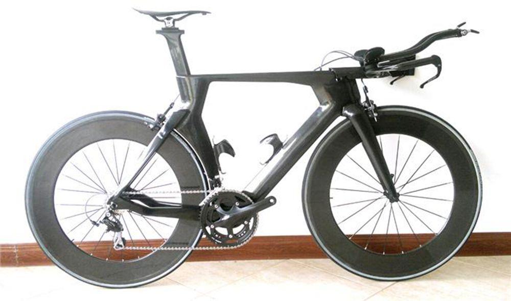 2016 New Full Carbon TT Triathlon complete Bike ,TT Bike Time Trial bicycle ,TT Bike Frame Carbon fiebr(China (Mainland))