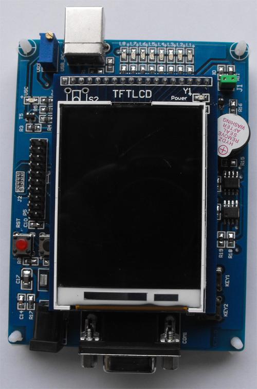 Cort M0 LPC1114 development board core 24 ' inch TFT color LCD - LiangJiaHui Technology Co., Ltd. store