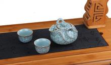 Ge Kiln Longquan Celedon Porcelain Ware Teapot 2 Cups Kungfu Tea Set 195ml