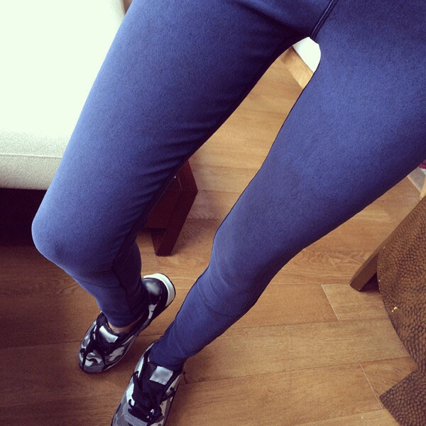 New Fashion Denim Leggings