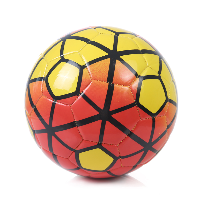 2016 New Style Machine stitching Best Quality Size 5 Football ball Youth Student Soccer Ball Get a Free Bag And Gas Needle(China (Mainland))