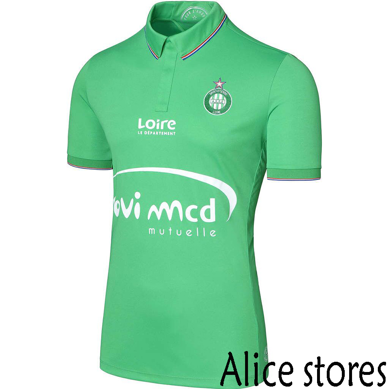 NEW AS Saint-Etienne 2016 2017 Ligue 1 Saint Etienne Football Club ASSE 2014 soccer jerseys survetement football maillot de foot(China (Mainland))