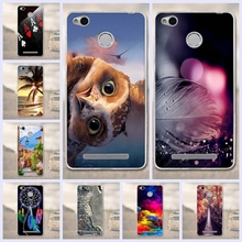 Buy 3D Printing Silicon Xiaomi Redmi 3x 3xCases luxury Mobile Phone Back Cover shell Redmi 3x Cases TPU Soft fundas Coque for $1.37 in AliExpress store