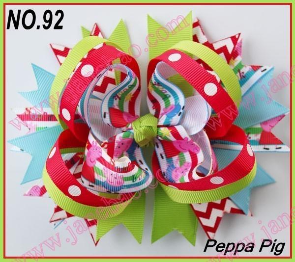 free shipping fashion 500pcs 5'' ring hair bows ca...