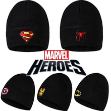 Marvel Hat For Men and WomenWinter Necessary Equipment Hot Fashion Fitted Warm Hat Outdoor Training Sport Hat(China (Mainland))