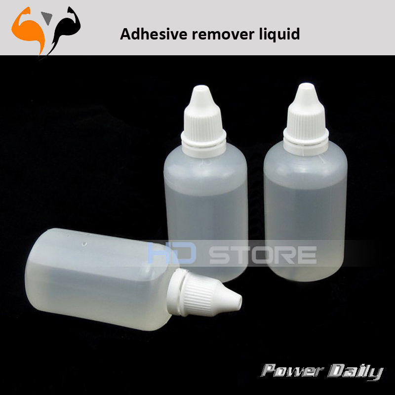 3pcs/lot Adhesive remover liquid cleaner of OCA glue UV on lcd or glass or used for nail polish remover HK post free shipping(China (Mainland))