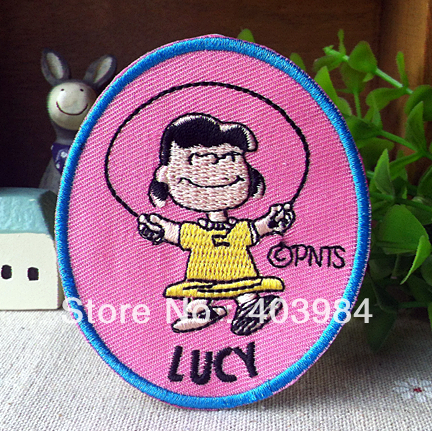 ~1 Embroidered LUCY Iron Sew Patch Applique Badge - Mackie Wong's store