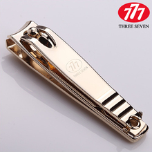 2016 Zinger Nail Cutter Nail Scissors Time-limited Sale Freeshipping Adult Korea 777 Gold Plated Medium Scissors Single N-607g(China (Mainland))
