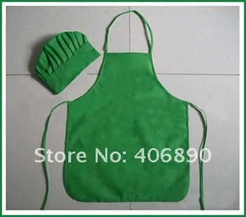 playing toy for chidlren a set of kids apron and chef cap
