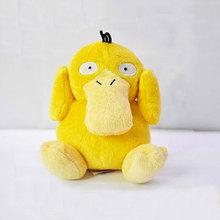 "Japanese Anime Cartoon Pokemon Psyduck Plush Toy 5.5""14CM Pocket Duck Stuffed Animals Plush Doll(China (Mainland))"
