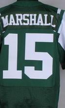 SexeMara Mens 15 Brandon Marshall 12 Joe Nama 22 Matt Forte 24 Darrelle Revis 87 Eric Decker jersey, jersey,White,Green,Size M-X(China (Mainland))