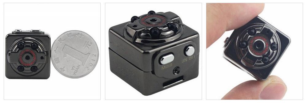 Мини видеокамера может начинать запись по встроенному датчику движения. Имеет высокую четкость FullHD 1920х1080p. Купить с бесплатной доставкой по РФ. Цена 1950 рублей