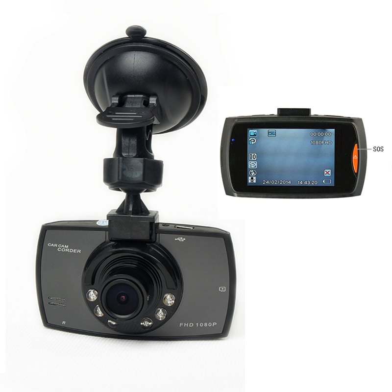 """2015 Best Selling 2.4"""" 120 Degree Wide Angle Full HD Car DVR Camera Recorder Motion Detection Night Vision G-Sensor(China (Mainland))"""