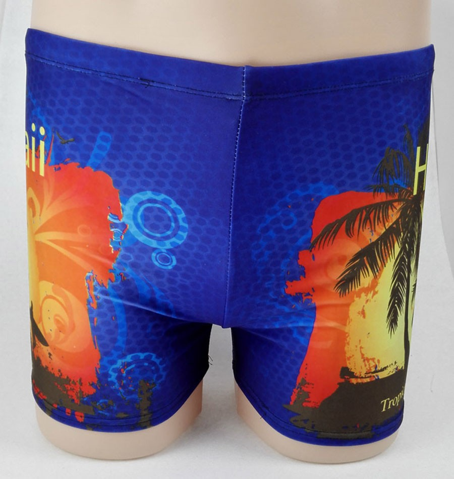 One Piece Cheap Printing Casual Swim Trunk Beach Boxer Shorts(China (Mainland))