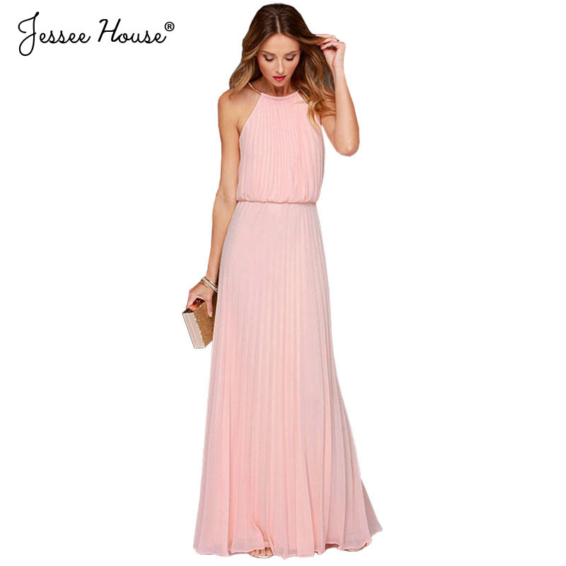 New Arrivals 2015 American Apparel Summer Dress Plus Size Women Clothing Sexy Chiffon Ladies Casual Maxi Long Party Dress 0121(China (Mainland))